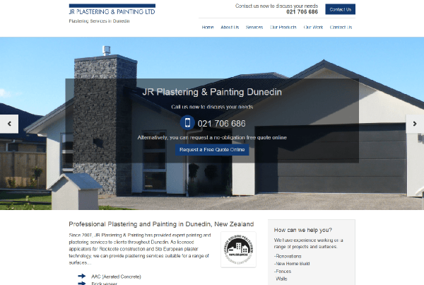 Jrplastering.co.nz